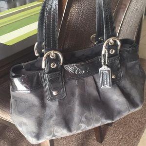 Barely used Authentic Coach Handbag